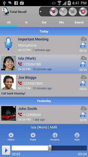 Call Recorder | Total Recall FULL v2.0.24