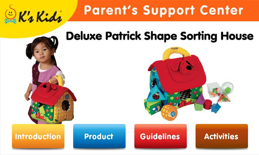 Patrick Shape Sorting House