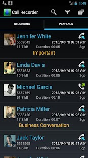 Digital Call Recorder Pro - screenshot thumbnail