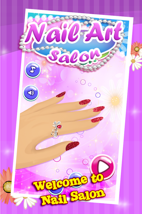 Nail art salon girls game android apps on google play nail art salon girls game screenshot prinsesfo Gallery