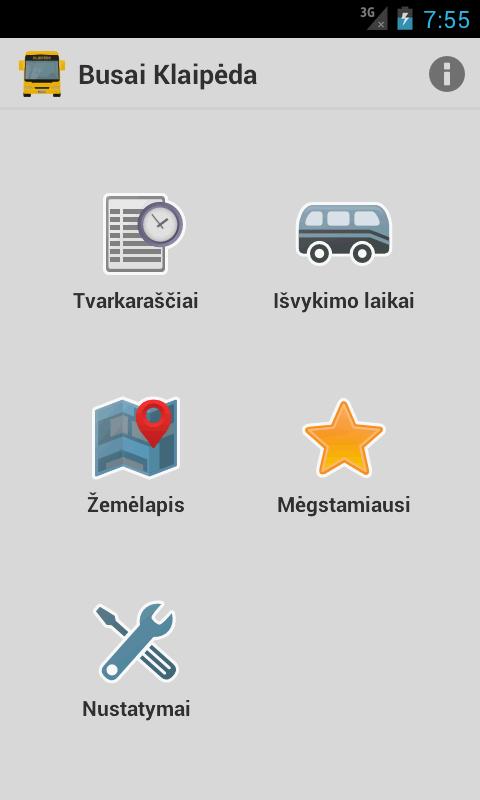 Busai Klaipėda- screenshot