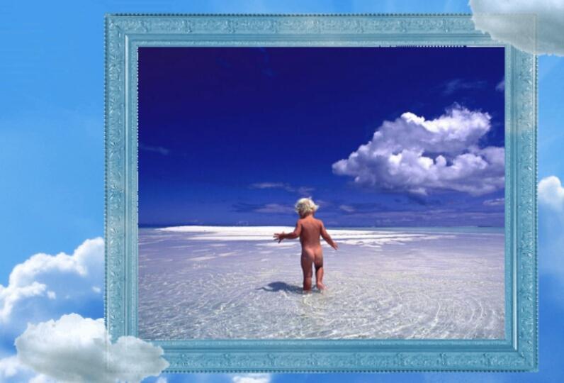 clouds pic frames free screenshot