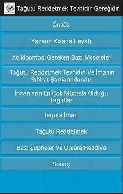 Tağutu Red - screenshot