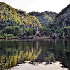 Gunung Lang, Ipoh, Perak by Tun Izmir - Landscapes Mountains & Hills ( gunung lang, pemandangan, malaysia, perak, landscape, ipoh )