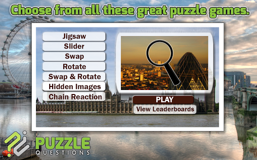 Free London Puzzle Games
