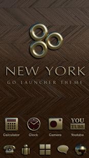 New York GO Launcher Ex Theme