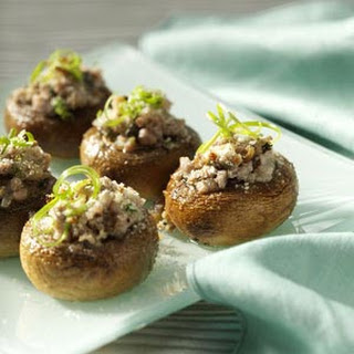 Sausage-Stuffed Mushrooms