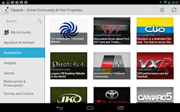 Tapatalk HD 1.0.1 apk for tablets