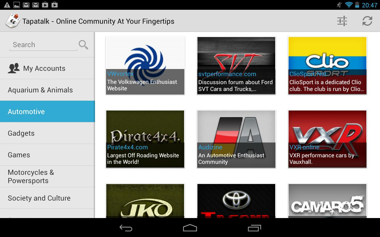 Community Reader by Tapatalk 4 v4.1.2
