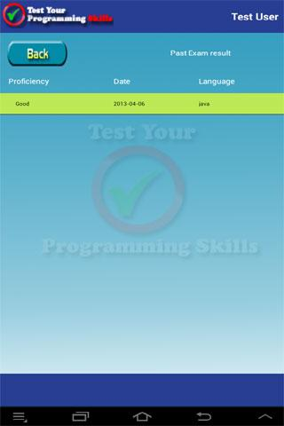 Test Your Programming Skills - screenshot