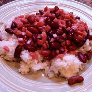 Red Beans and Rice with SPAM®.