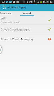 AirWatch MDM Agent - screenshot thumbnail