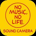 NO MUSIC, NO LIFE.SOUND CAMERA icon