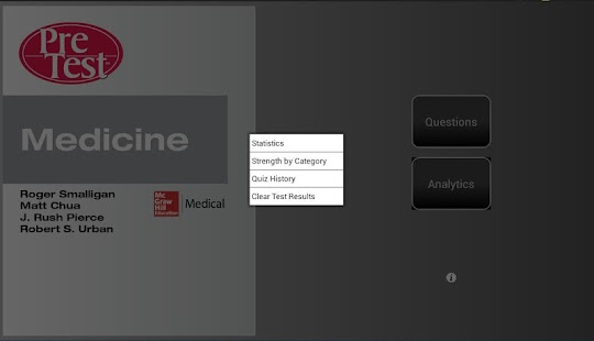 PreTest Medicine - screenshot thumbnail