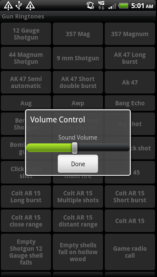 Gun Ringtones - screenshot