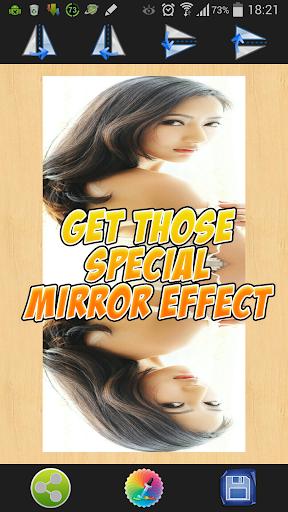画像のミラー効果