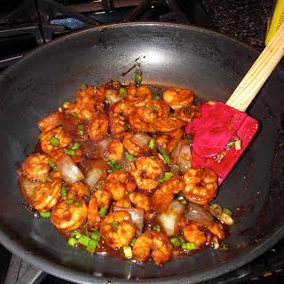 Kung Pao Shrimp {PF Changs Copycat}.