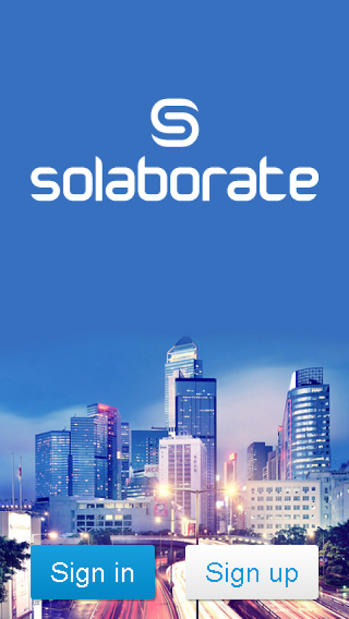 Solaborate - screenshot