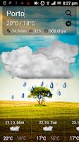 Screenshot of Cute Weather