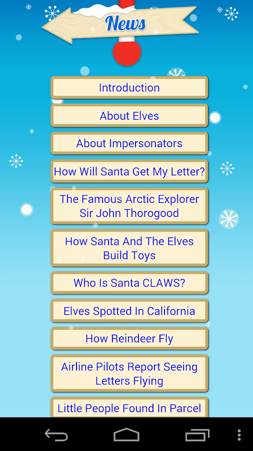 Santa Tracker Free - screenshot