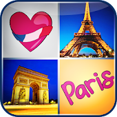Paris Memory Games for Kids
