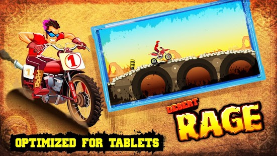 Desert Rage - Bike Racing Game Screenshot 6