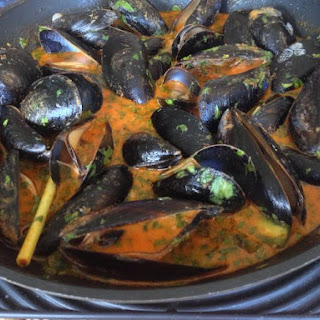 Curry Mussels.