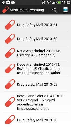 Arzneimittel Warnung