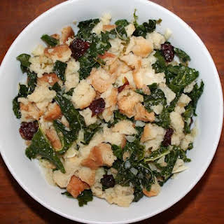 Cooktop Stuffing with Tuscan Kale, Fennel, and Herbs.