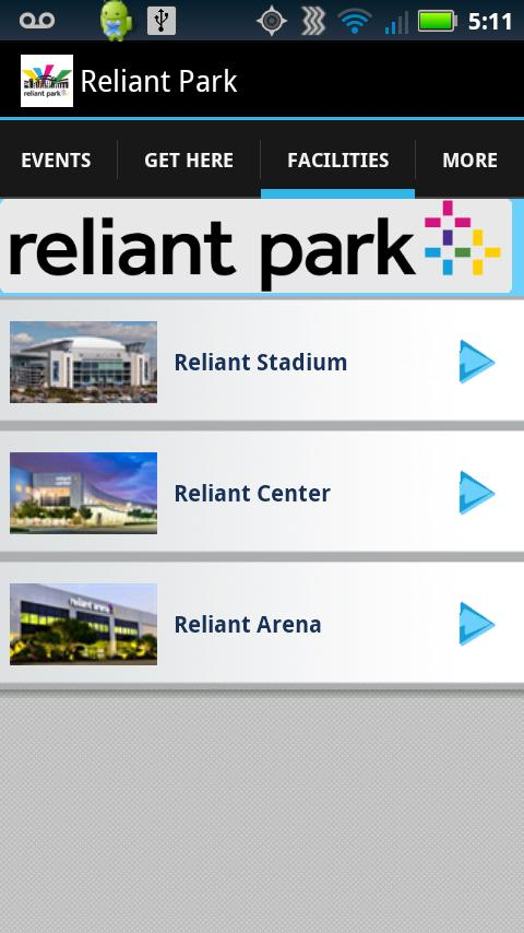 Reliant Park - screenshot
