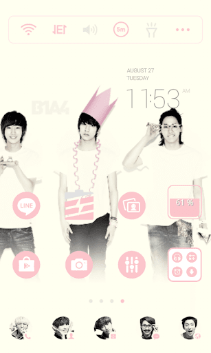 B1A4 Group Dodol Theme