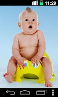 Screenshot of Farting Dancing Baby Funny LWP