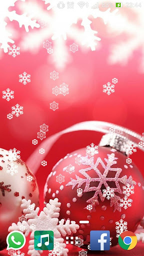 Christmas Red Live Wallpaper