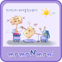 NK 카톡_모모N모니_보라a 카톡테마 icon
