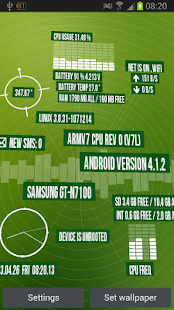 Device Info 2020 HD LWP - screenshot thumbnail