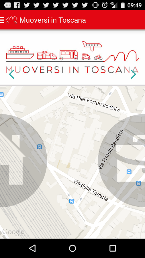 Muoversi in Toscana- screenshot