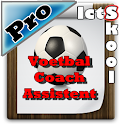 Voetbal Coach Assistent PRO icon