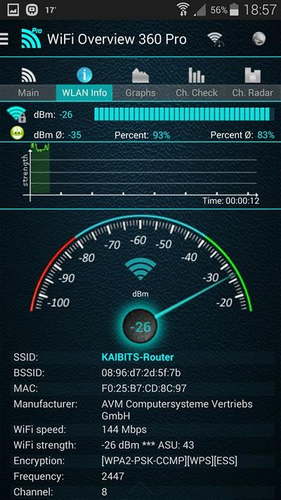 WiFi Overview 360 Pro - screenshot