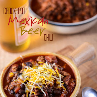 Crock Pot Mexican Beer Chili.