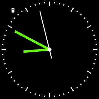 Minimalist Wear Watch Face - screenshot