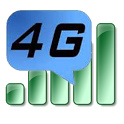 Connect 4G Internet icon