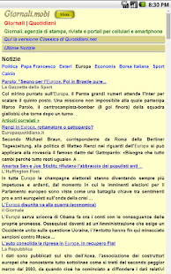 Giornali- miniatura screenshot