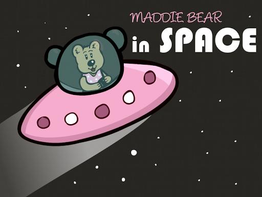 Maddie Bear in Space TV
