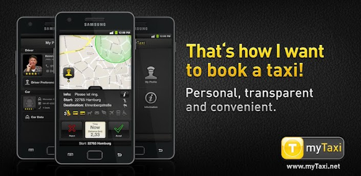 myTaxi - Taxi driver App