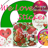 We Love Sticker-WhatsApp