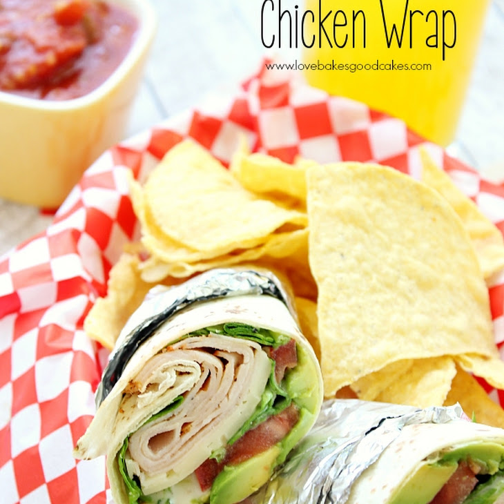 California Chicken Wraps Recipe