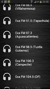 Live Radio Mexico - screenshot thumbnail