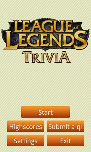 League of Legends Trivia [Pro]