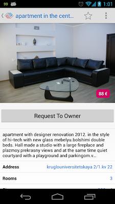 VLASNE - apartments for rent - screenshot