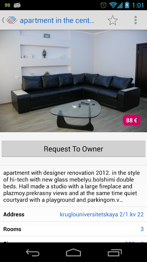 VLASNE - apartments for rent- screenshot